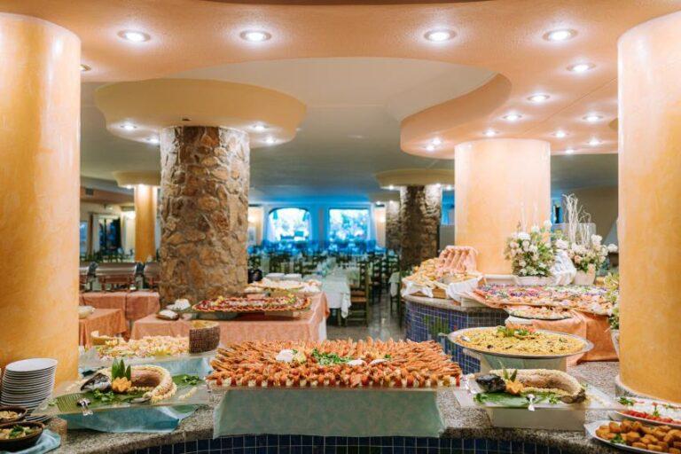 Buffet al Nicolaus Club Torre Moresca