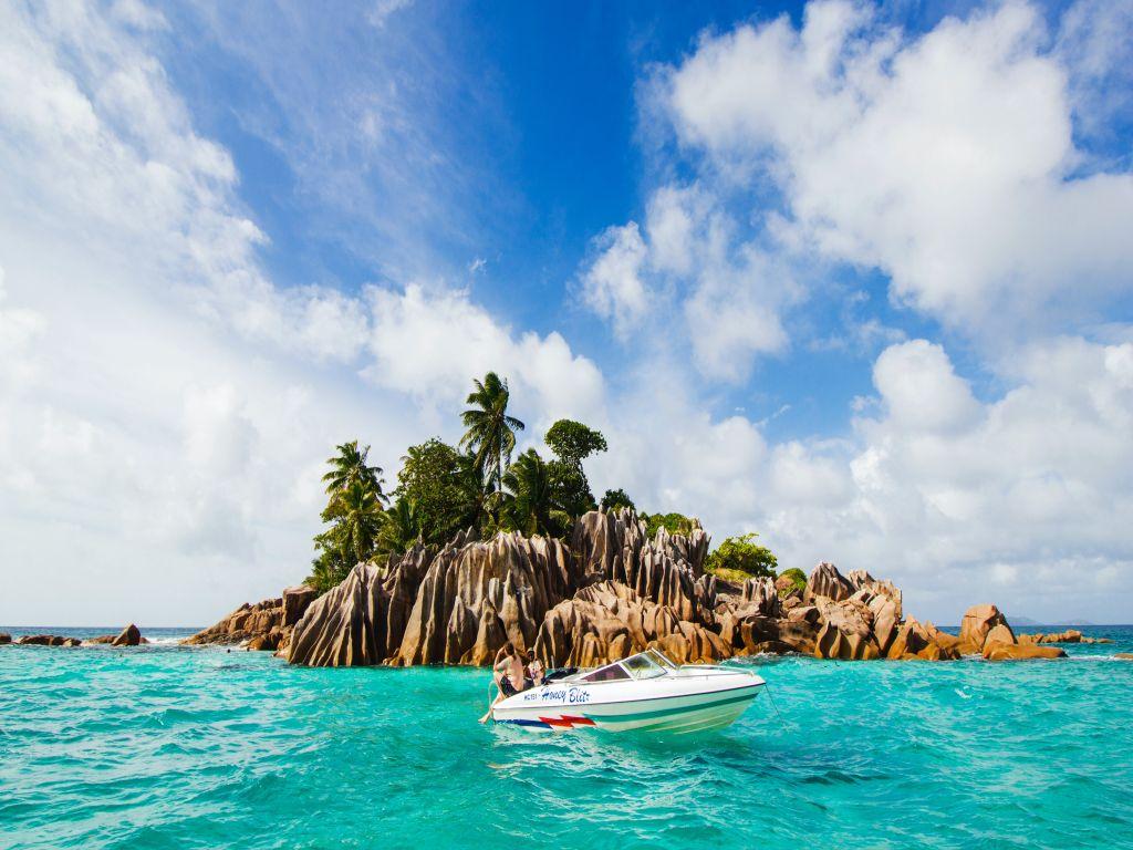 Isolotto delle Seychelles