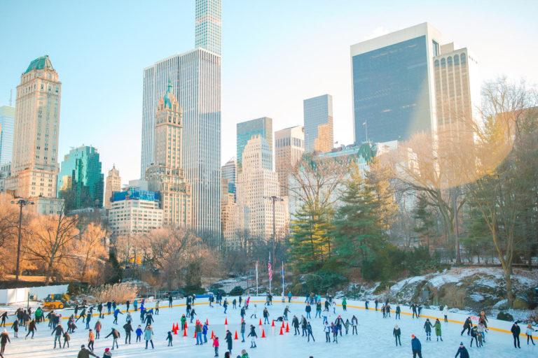 Pattinaggio a Central Park